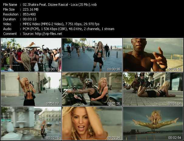 video Loca (JS Mix) screen