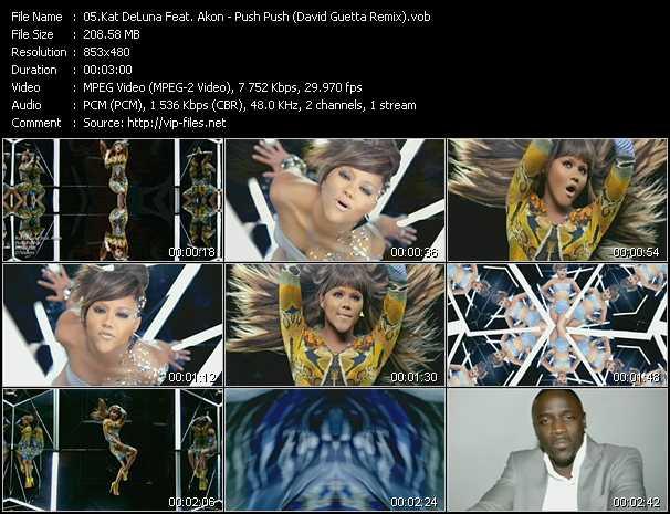 video Push Push (David Guetta Remix) screen