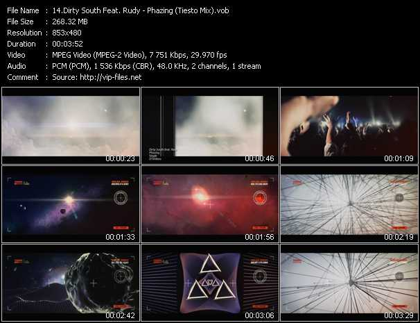 download Dirty South Feat. Rudy « Phazing (Tiesto Mix) » video vob