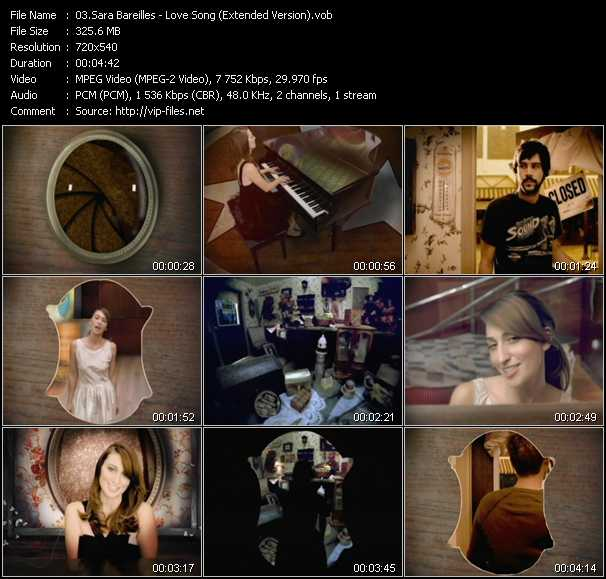 video Love Song (Extended Version) screen