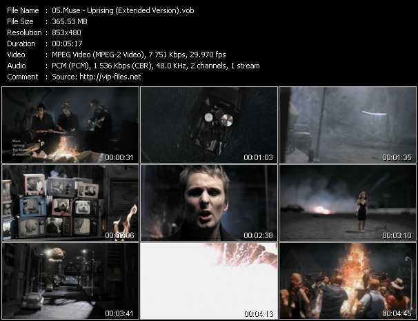 video Uprising (Extended Version) screen