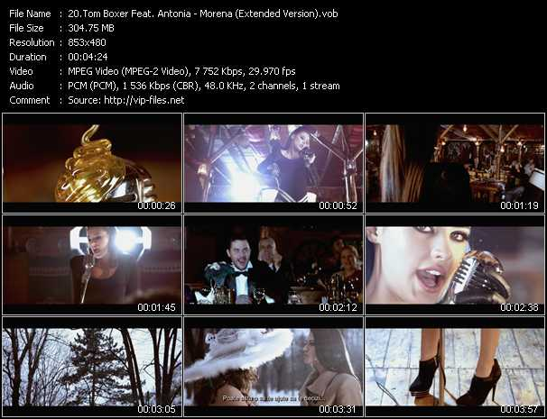 download Tom Boxer Feat. Antonia « Morena (Extended Version) » video vob