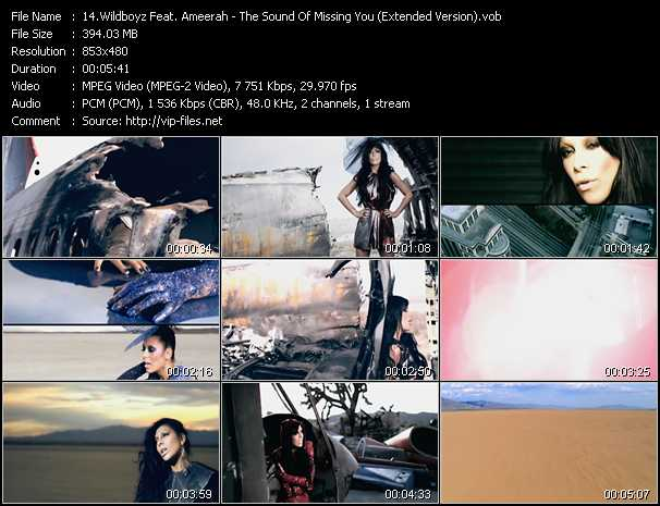 download Wildboyz Feat. Ameerah « The Sound Of Missing You (Extended Version) » video vob