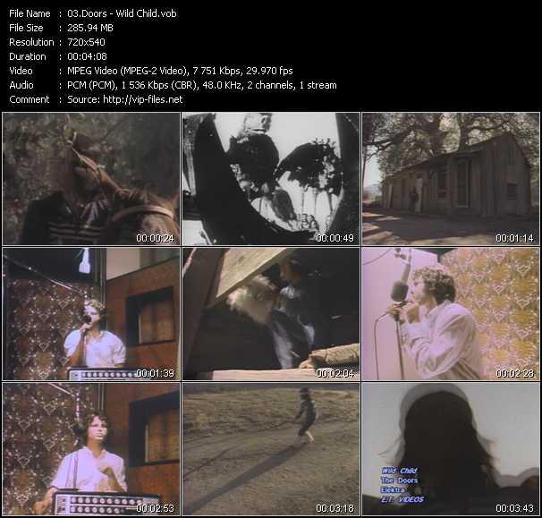 video Wild Child screen