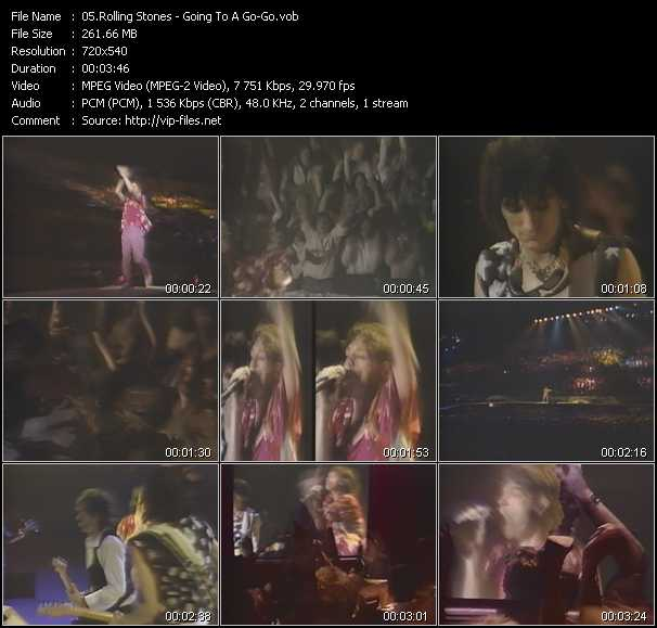 download Rolling Stones « Going To A Go-Go » video vob