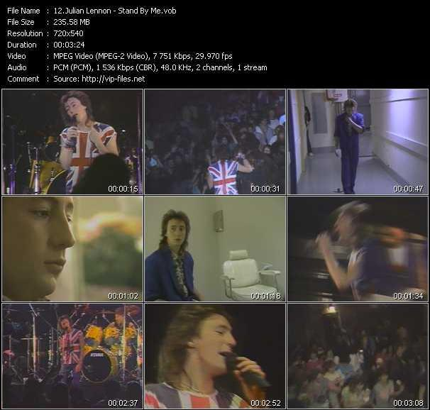 download Julian Lennon « Stand By Me » video vob