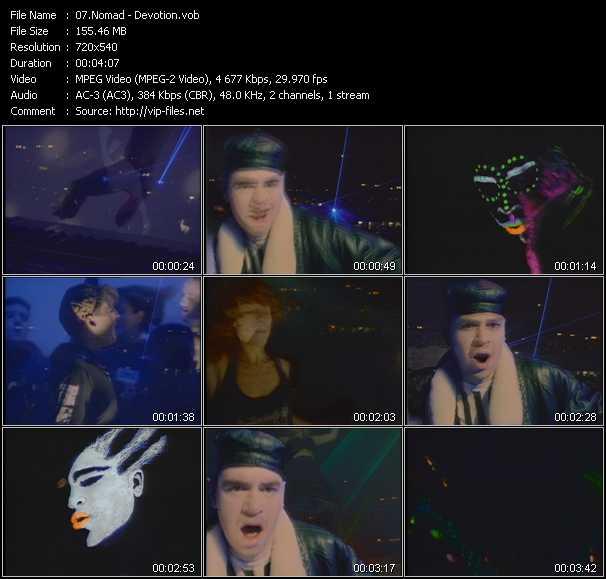 video Devotion screen