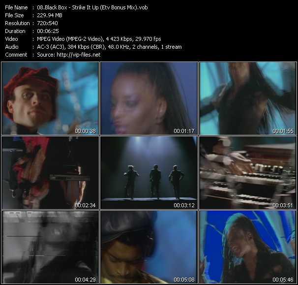 video Strike It Up (ETV Bonus Mix) screen
