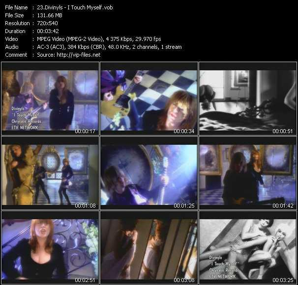 download Divinyls « I Touch Myself » video vob