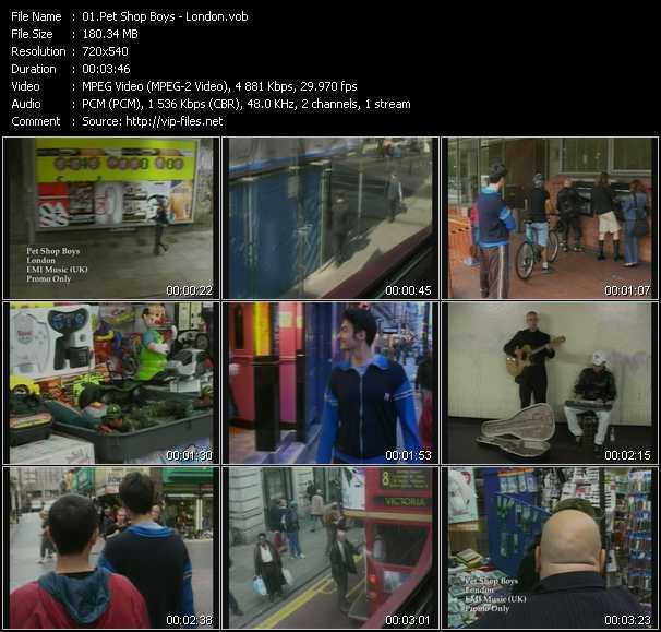 video London screen