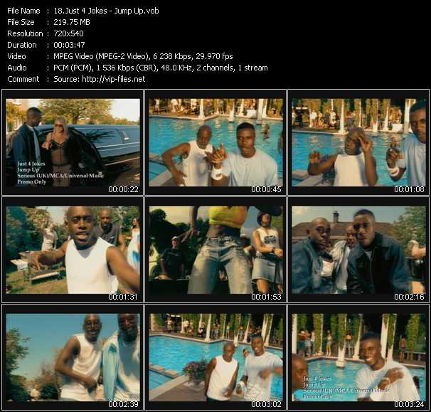 download Just 4 Jokes « Jump Up » video vob