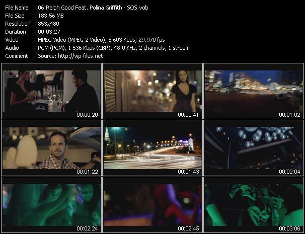 download Ralph Good Feat. Polina Griffith « SOS » video vob