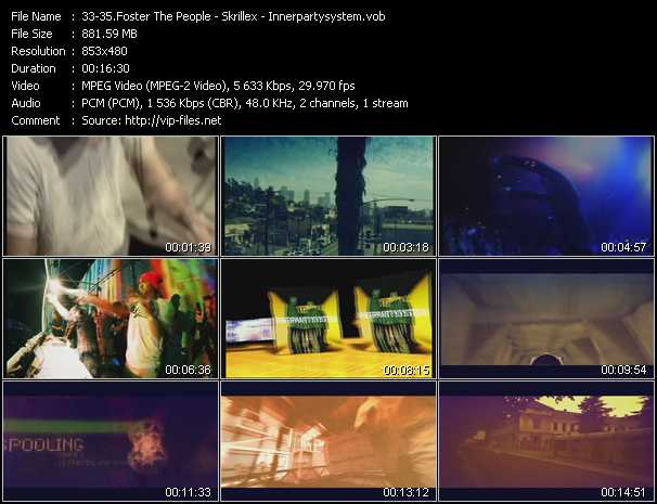 download Foster The People - Skrillex - Innerpartysystem « Pumped Up Kicks - Rock 'n' Roll (Will Take You To The Mountain) - Not Getting Any Better (Extended Version) » video vob