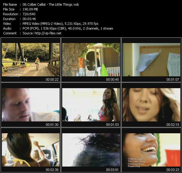 video The Little Things screen
