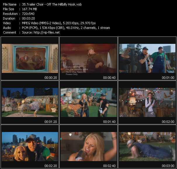download Trailer Choir « Off The Hillbilly Hook » video vob