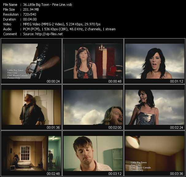 download Little Big Town « Fine Line » video vob