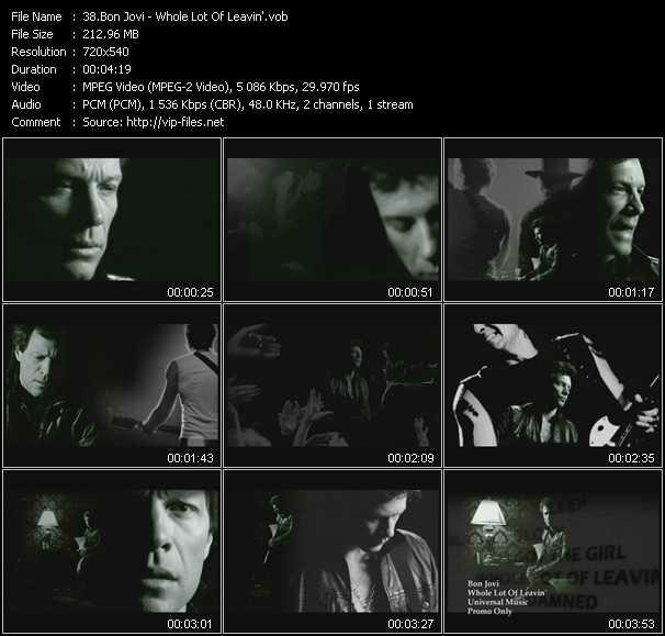 video Whole Lot Of Leavin' screen