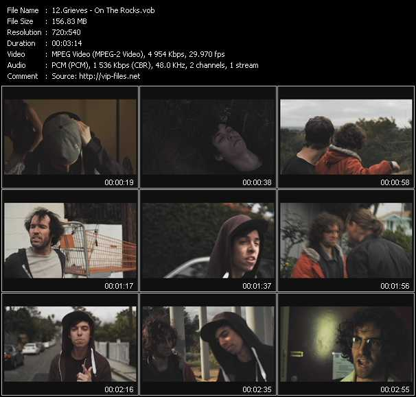 download Grieves « On The Rocks » video vob