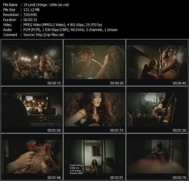 video Little Lie screen