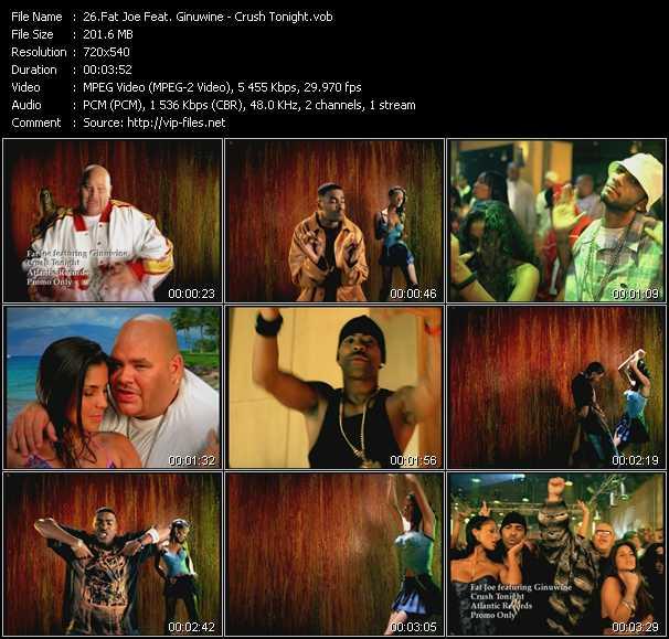 video Crush Tonight screen