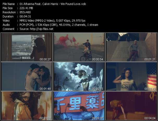 video We Found Love screen
