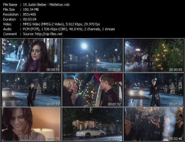 video Mistletoe screen
