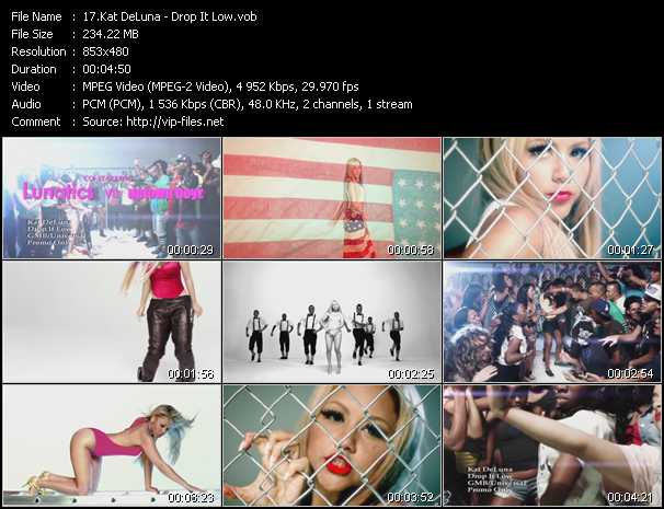 download Kat DeLuna « Drop It Low » video vob
