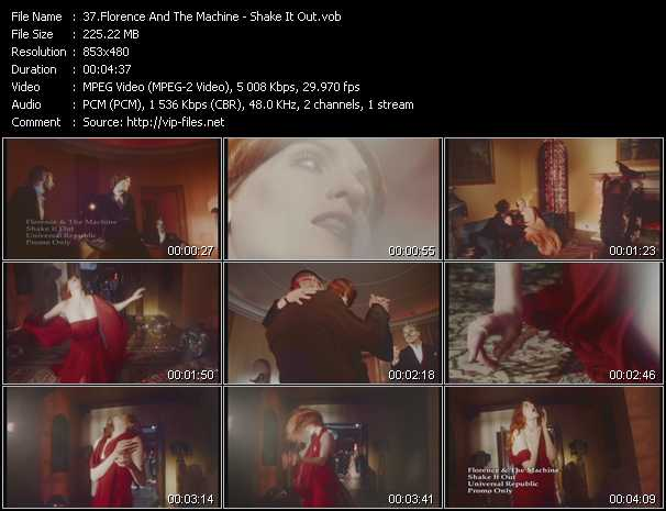 download Florence And The Machine « Shake It Out » video vob