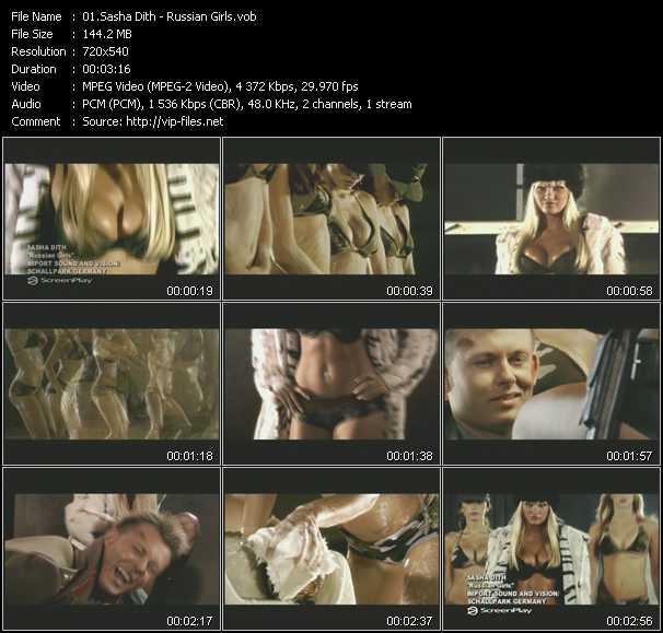 video Russian Girls screen