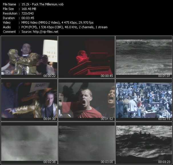 download 2k « Fuck The Millenium » video vob