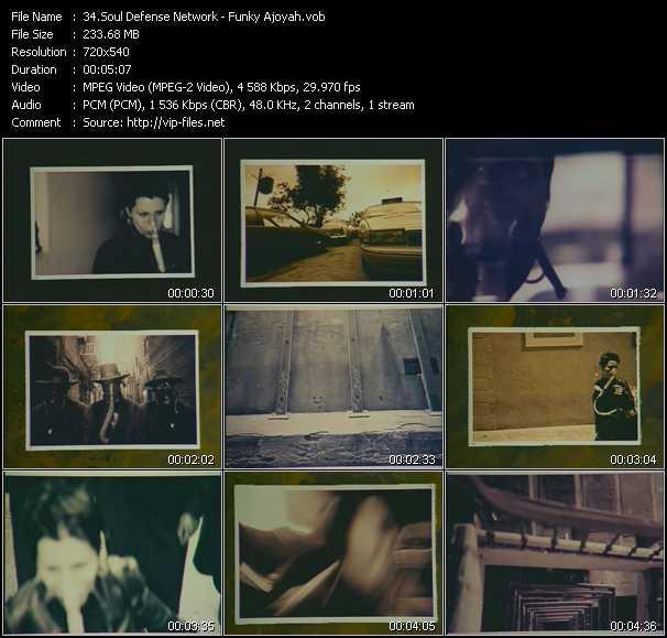 video Funky Ajoyah screen