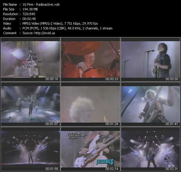 video Radioactive screen