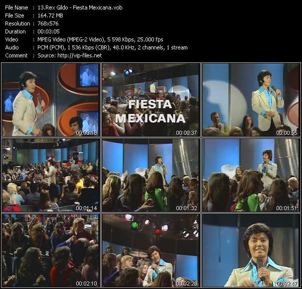 video Fiesta Mexicana screen
