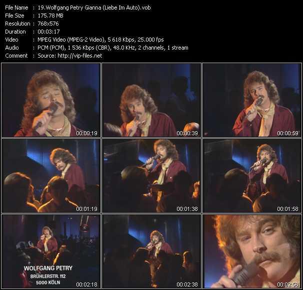 video Gianna (Liebe Im Auto) screen