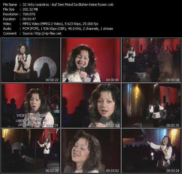 video Auf Dem Mond Da Bluhen Keine Rosen screen