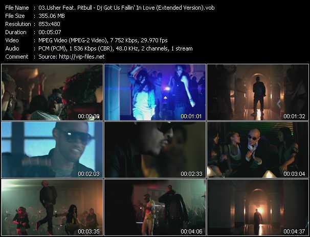 video Dj Got Us Fallin' In Love (Extended Version) screen
