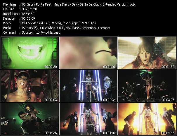video Sexy Dj (In Da Club) (Extended Version) screen