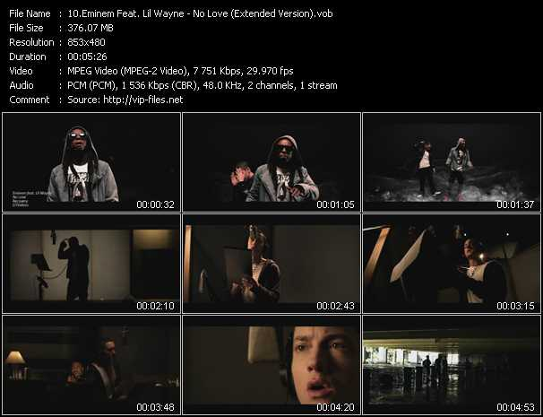 video No Love (Extended Version) screen