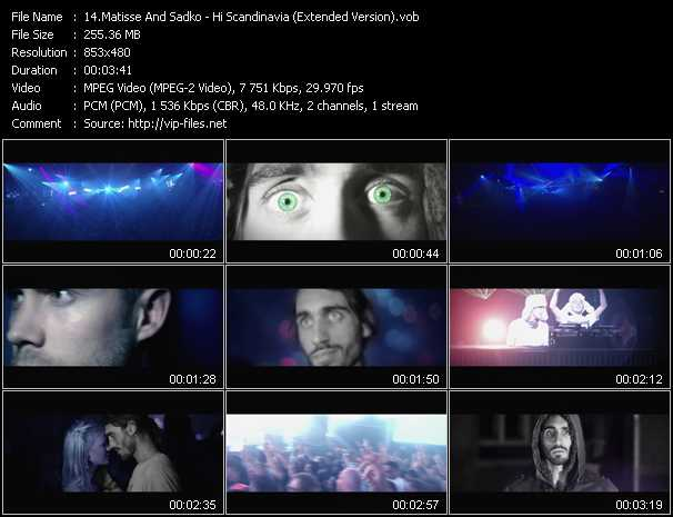 download Matisse And Sadko « Hi Scandinavia (Extended Version) » video vob