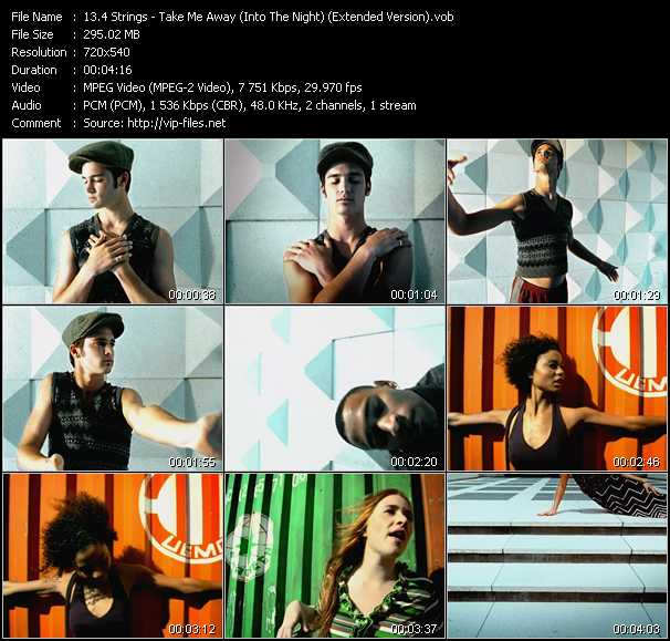 download 4 Strings « Take Me Away (Into The Night) (Extended Version) » video vob