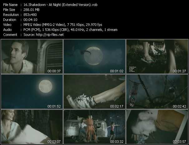video At Night (Extended Version) screen