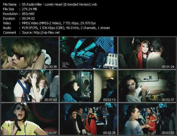 Download radio killer  lonely heart (speak one remix)  video vob