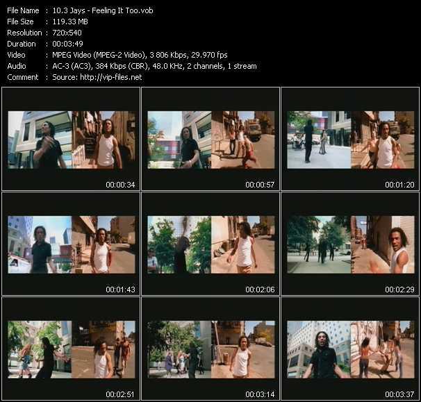 download 3 Jays « Feeling It Too » video vob