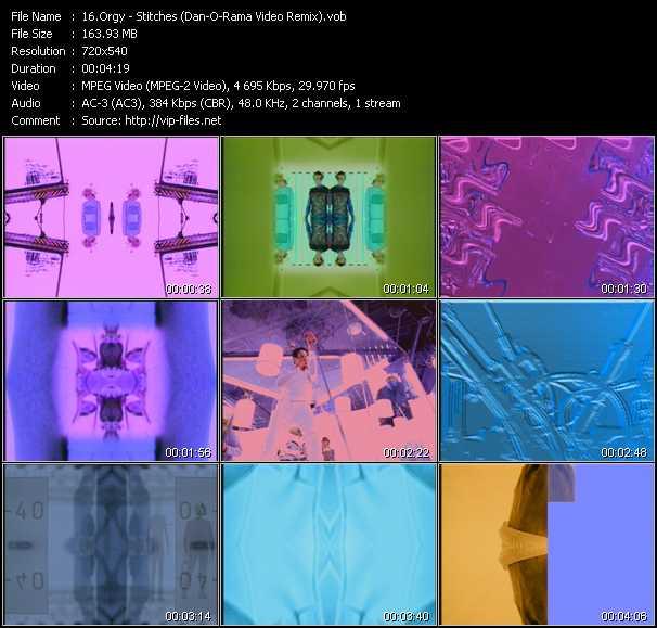 video Stitches (Dan-O-Rama Video Remix) screen