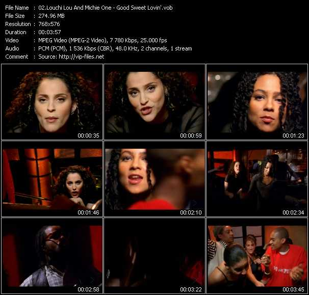 video Good Sweet Lovin' screen