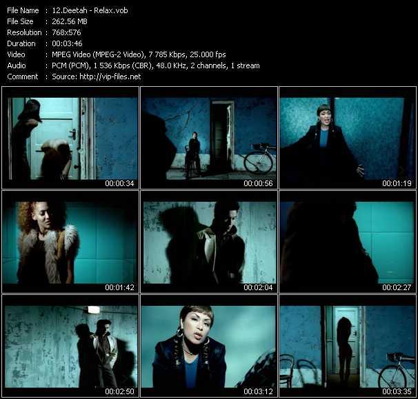 download Deetah « Relax » video vob