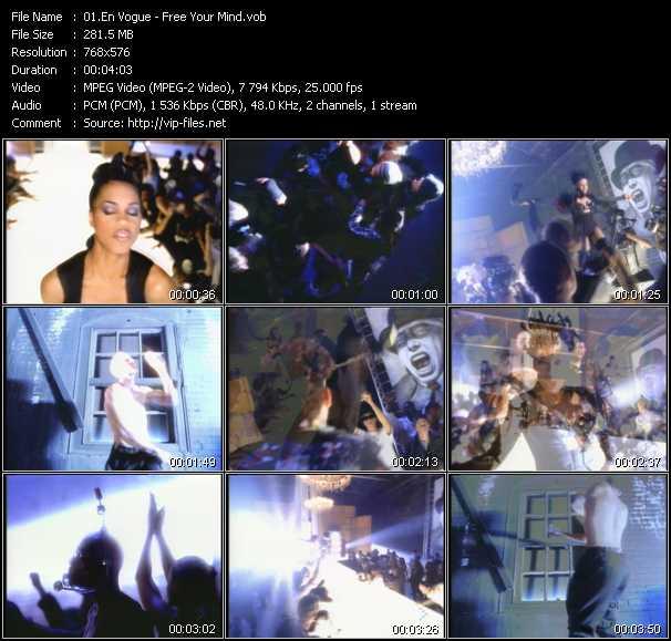 download En Vogue « Free Your Mind » video vob