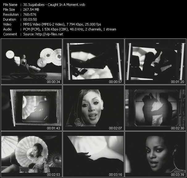 download Sugababes « Caught In A Moment » video vob