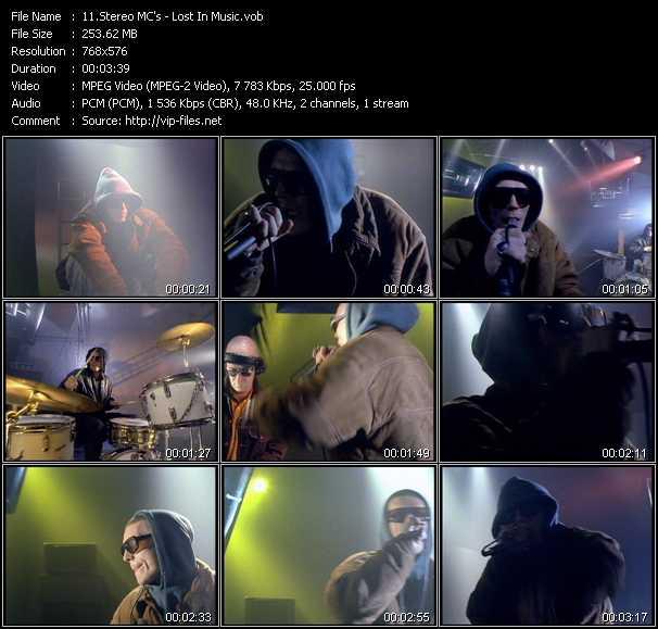 download Stereo MC's « Lost In Music » video vob