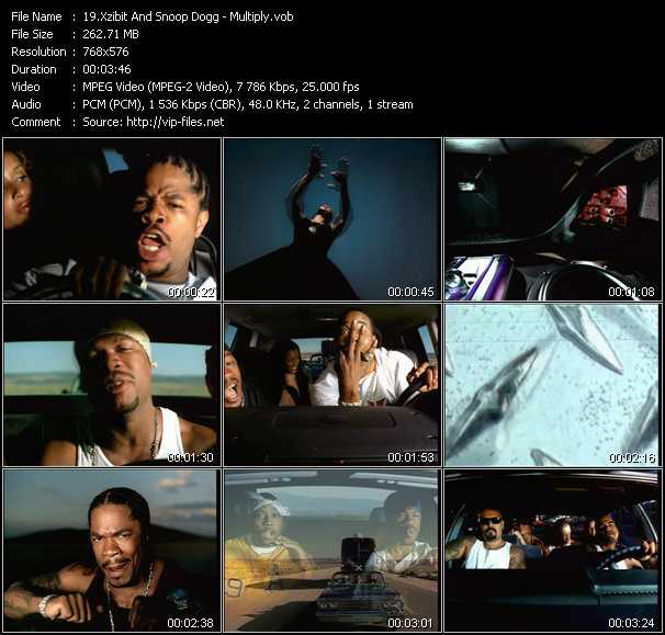 download Xzibit And Snoop Dogg « Multiply » video vob